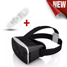 VR COMBO - TechByte 3rd Gen 3D VR Box + Remote - Virtual Reality Glasses