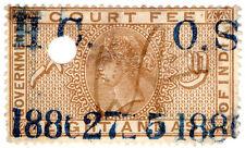 (I.B) India Revenue : Court Fee 8a