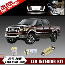 11X White Conversion LED Package Kit For 2013-2015 Ford F150 250 350 350 450 550