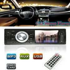 Vehicle Radio MP3 Music Player Stereo In-Dash FM USB SD AUX Input Receiver Set