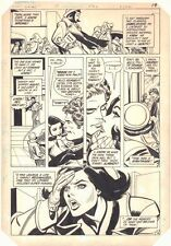 Supergirl #19 p.16 - Linda and Phil Kiss - 1984 art by Carmine Infantino