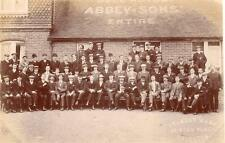 Bell Hotel Abbey & Sons Kemp Town Brewery Brighton unused RP old pc Stanley Mann