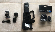 Go Pro HERO 4 Session camera-used once-chest & unused head strap-water proof