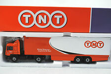 Corgi 1:50 CC75701 MAN Truck & BOX Trailer in TNT GLOBAL EXPRESS Livery MIB