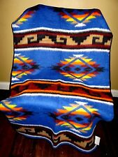 New  Southwest  Design Reversible Camp Blanket  6' X 7' High Quality