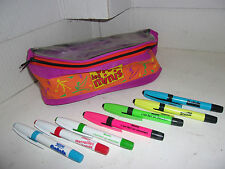 LOT SACOCHE BANANE + CRAYONS SPECIAL NESTLE // VINTAGE