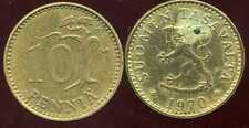 FINLANDE 10 pennia 1970