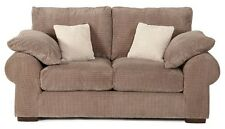New Strand 3 and 2 Seater Sofa / Suite With Formal Back In Mocha   Fabric
