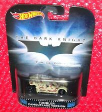 Hot Wheels Tumbler Camouflage Version Batman The Dark Knight   CFR16-D718