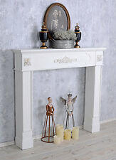 Deco Chimney Shabby Chic Fireplace Console Mantel Trim Vintage