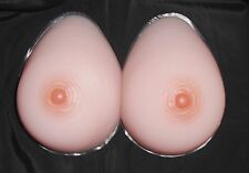 SALE! 38D40C Silicone Teardrop Breast Forms/Mastectomy Bra Inserts-Model 7TR