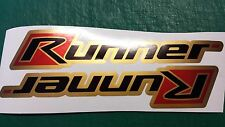 Gilera Runner side panel Stickers FX, FXR, SP, VX, VXR, pogialli malossi GOLD