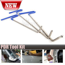 Auto Body Dent Removal Pdr Rod Tool Kit- Hail and Door Ding Repair(B)  MA