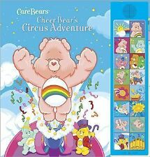 Cheer Bear's Circus Adventure: Deluxe Sound Storybook (Care Bears)-ExLibrary
