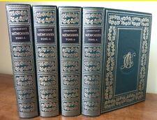 C1 NAPOLEON Memoires CONSTANT Premier Valet Empereur RELIE Complet 4 vol BONNOT