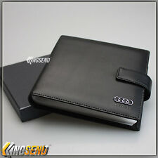 AUDI PU Leather CD Case Car DVD Holder Men Disc Album Disk Storage Carry Box Bag