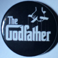 BUY 2 & GET 1 FREE - The Godfather 25mm Pin Button Badge - Godparent Christening