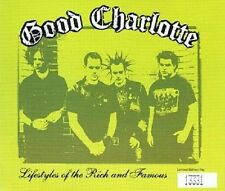 GOOD CHARLOTTE Lifestyles Of The Rich And Famous CD Single Epic 2003 No'd Ltd Ed
