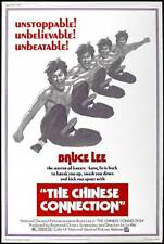 THE CHINESE CONNECTION Movie POSTER 27x40 B Bruce Lee James Tien Robert Baker