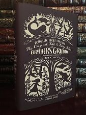 Complete 1st Edition Original Folk & Fairy Tales of Brothers Grimm New Hardcover