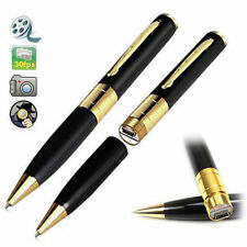 32 GB segreto CCTV Mini HD SPY PEN CAMERA VIDEO RECORDER DC USB DVR penna scrittura