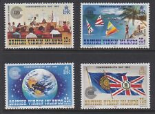 British VIRGIN IS 1983 Commonwealth Day mint set sg500-503 MNH