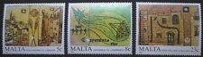 Anniversaries and events stamps, 1987, Malta, SG ref: 806-808, 3 stamp set, MNH