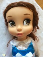"""Disney Belle Animators Collection 16"""" Doll Blue Dress Beauty and the Beast"""