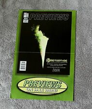 Previews 2004 Constantine Wolverine Punisher Marvel Minimates PROMO Poster VF