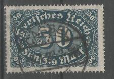 PERFIN Firmenlochung Deutsches Reich MiNr. 246 KASSEL gestempelt ex 246- 257