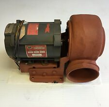 Buffalo Forge Blower Baby Vent Set 1/6 HP GE Motor Duct Squirrel Cage hvac NOS