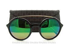 New Gucci Sunglasses GG 3602/S Black 807MT Authentic