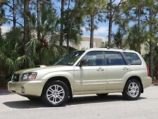 Subaru: Forester MANUAL TURBO