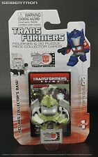BULKHEAD Transformers Prime Mini Figurine+3D Puzzle Piece 30th Anniv Goldie TFP