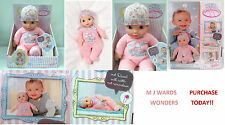 My First Baby Annabell - Newborn Doll - 30cms ** PURCHASE TODAY **