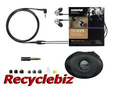 Shure SE425-V Silver Ear Buds / Earphones IEM Headphones Earbuds FREE SHIP SE425