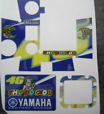 GoPro HD Hero and HD Hero3 Sticker decals graphics Valentino rossi yamaha doctor