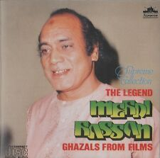 THE LEGEND MEHDI HASSAN - GHAZALS FROM FILMS - BRAND NEW CD - FREE UK POST