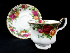 Royal Albert Old Country Roses Teacup Saucer Set 1962 England Bone China Tea Cup