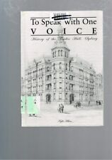 To Speak with One Voice: History of the Trades Hall Sydney by Kylie Hilton
