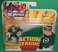 "Action League Green Lantern HAL JORDAN 2.5"" figure DC Universe Mattel JUSTICE"