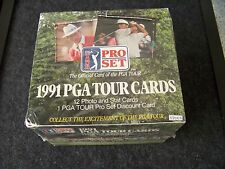 1991 PGA Tour golf cards 12 cards per pack, 36 packs, factory sealed