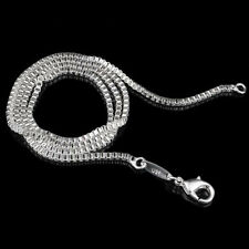 Wholesale Lots Women Fashion 1.4mm 925 Silver Box Chain Necklace 26 inches