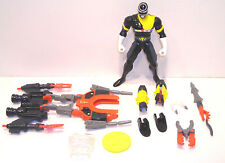 Power Rangers in Space BLACK BATTLIZED RANGER Action Figure COMPLETE Bandai 1998