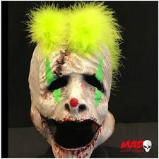 Deluxe Joker Clown Latex Collector Mask - Halloween Horror Collectible