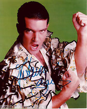 "Antonio Banderas Colour 10""x 8"" Signed Photo - UACC RD223"