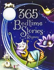 365 Bedtime Stories & Rhymes Hardcover Book Children Kids FREE SHIPPING NEW