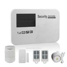 Wireless WIFI Home Intelligent GSM Burglar Alarm Anti-Theft Security APP Control