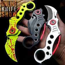 TAC FORCE SPRING ASSISTED KNIFE Tactical Folding Karambit Pocket Knives Z-HUNTER