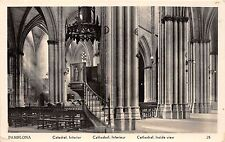 BR10449 Pamplona Catedral Interior  spain